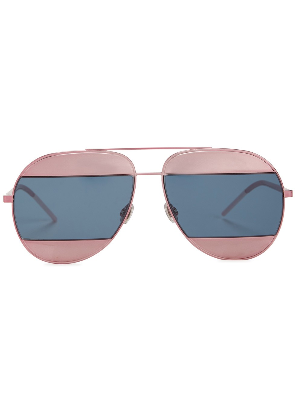 Christian Dior two-tone aviator sunglasses, £379