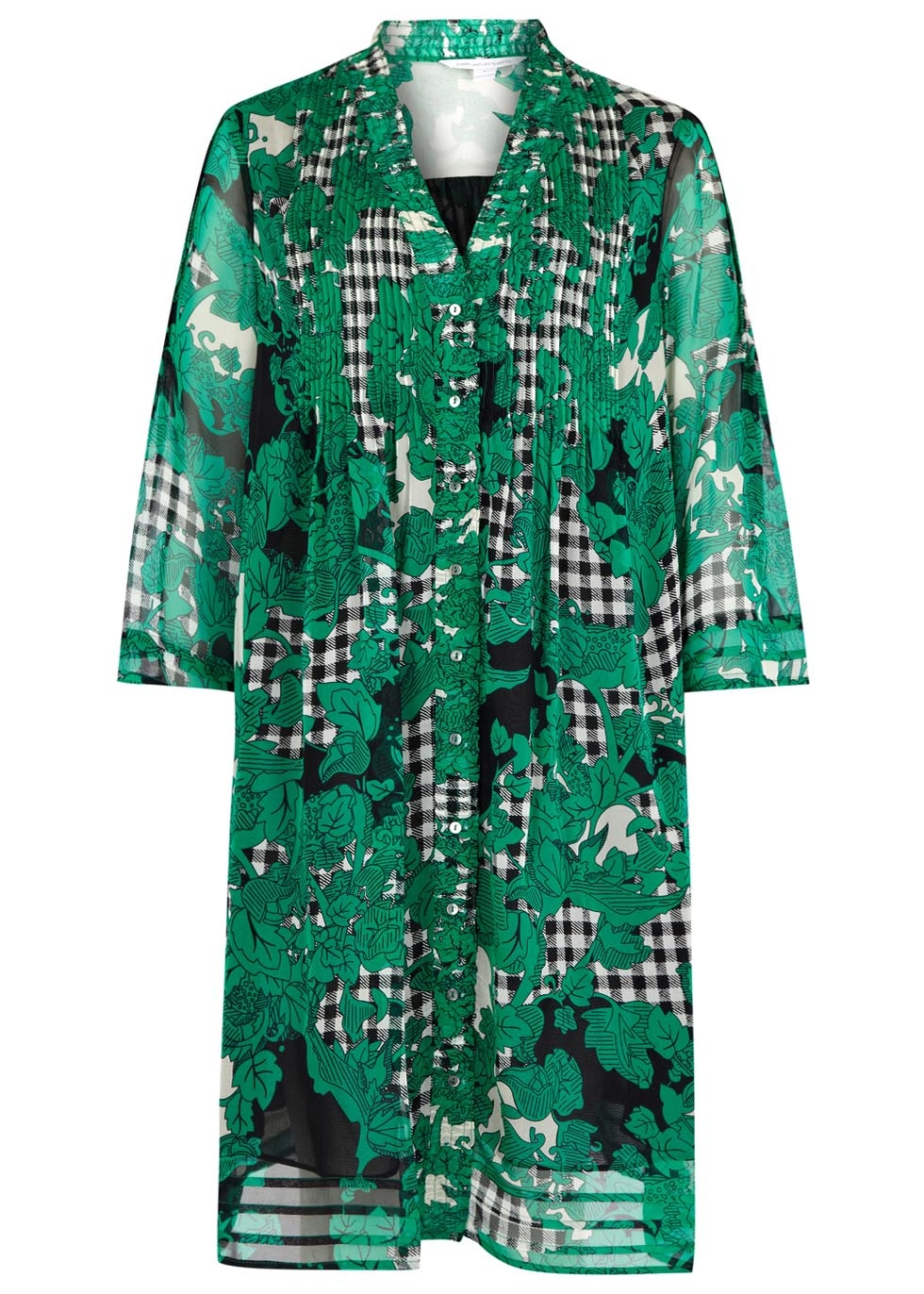 Diane Von Furstenberg printed silk dress, £400 - Copy