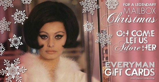 Everyman Cinema gift voucher Mailbox
