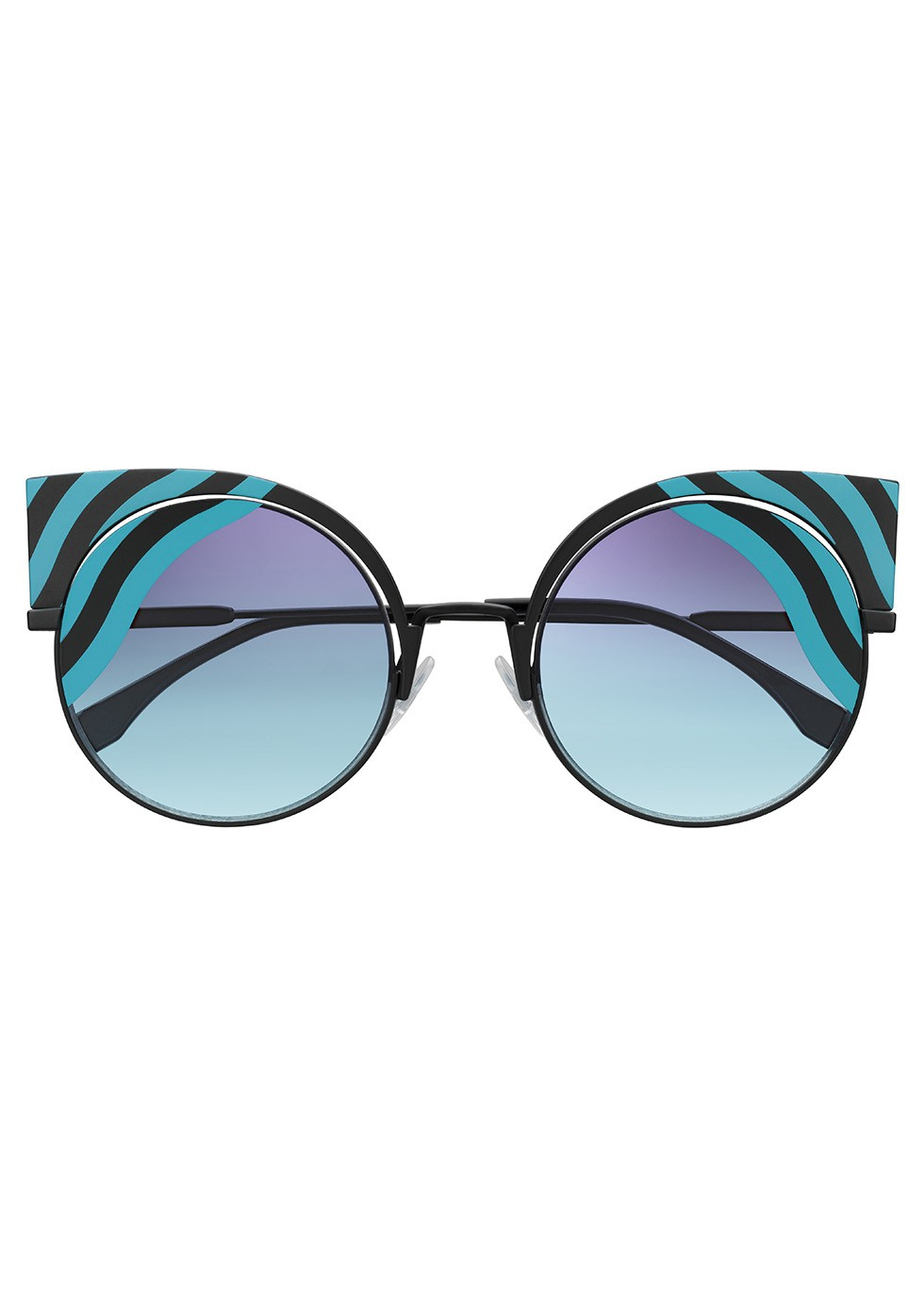 Fendi Hypnoshine striped cat-eye sunglasses, £410