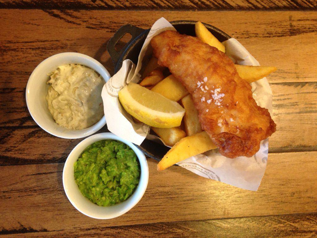 Gas Street Social mini Fish & Chips