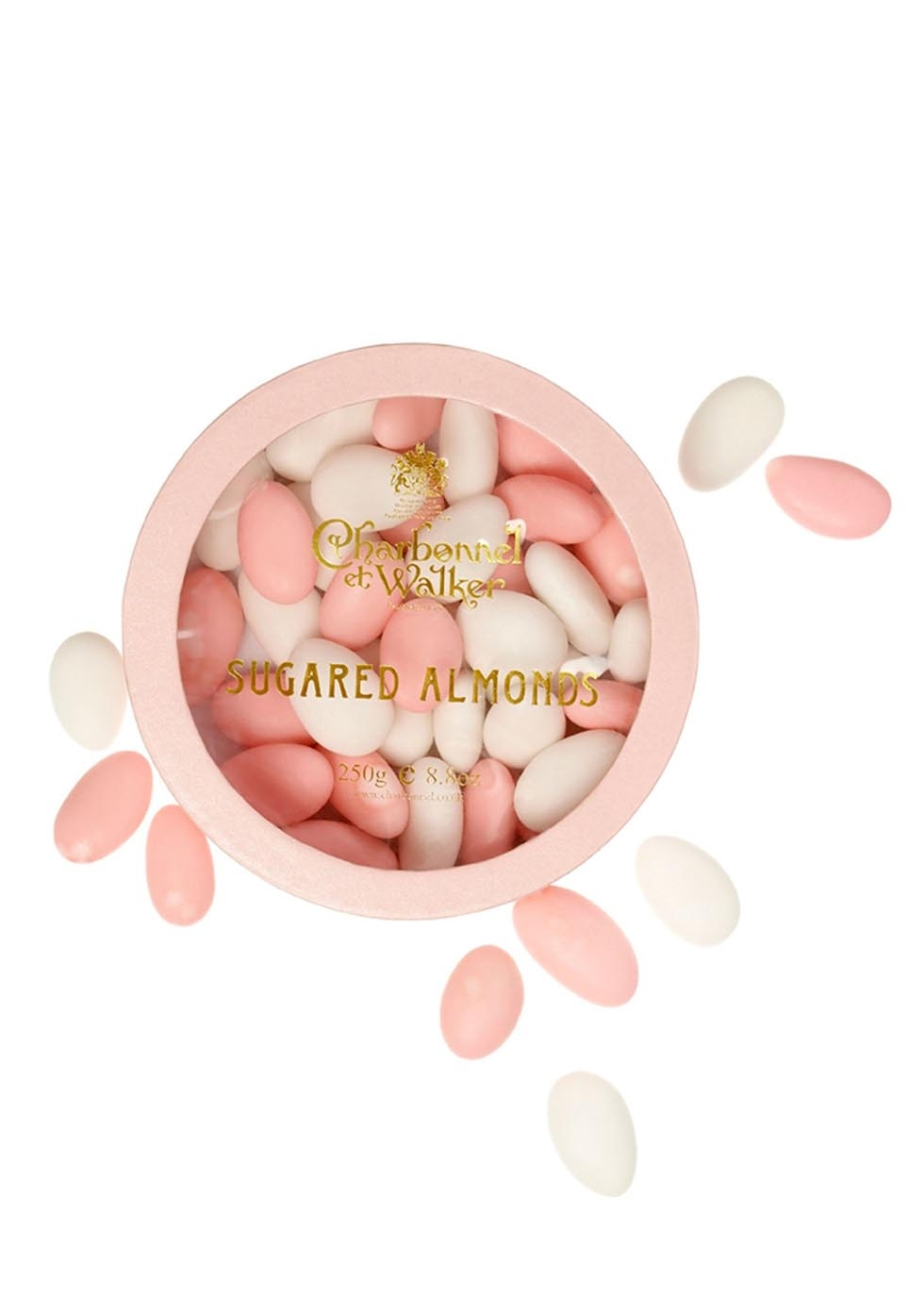 For her - Charbonnel et Walker sugared almonds, £10.95