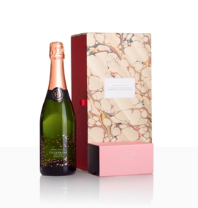 For her - Harvey Nichols rosé champagne and pink truffles hamper, £45