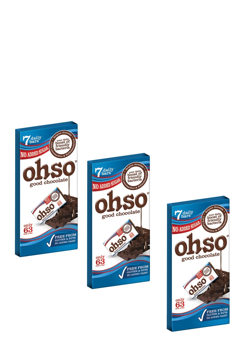 OHSO probiotic chocolate bar, £11.85