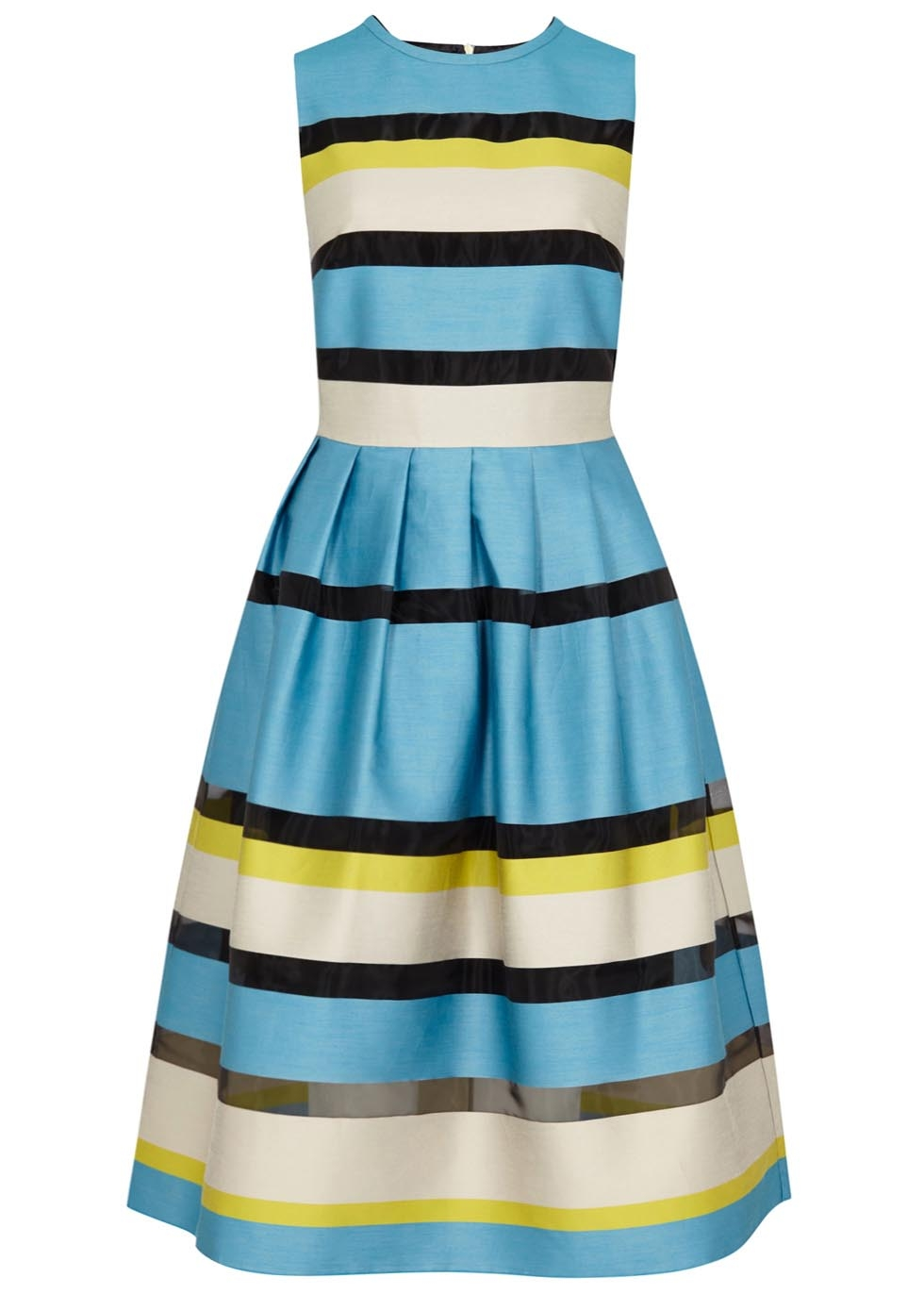 Paul Smith BLACK striped cotton blend dress, £275