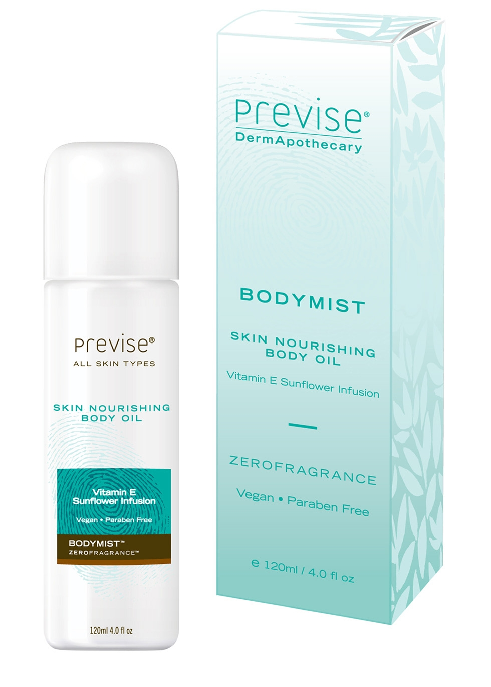 Previse BodyMist Nourishing Body Oil, £21