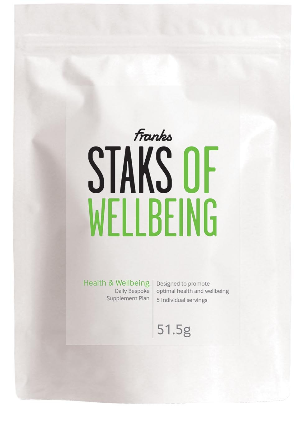Staks Of Wow food supplement, £7.95