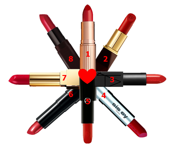 Valentine's Day Lipsticks
