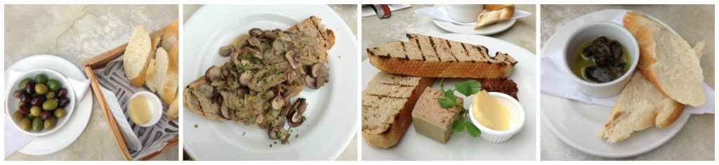 Starters and snails