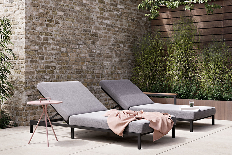 Luxury Rome Sun Lounger from BoConcept